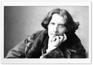 Oscar Wilde HD Wide Wallpaper for Widescreen