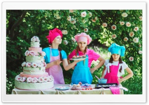 Outdoor Kids Birthday Party HD Wide Wallpaper for 4K UHD Widescreen desktop & smartphone