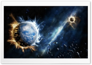 Outer Space Fantasy HD Wide Wallpaper for 4K UHD Widescreen desktop & smartphone