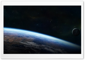 Outside Orbit HD Wide Wallpaper for Widescreen