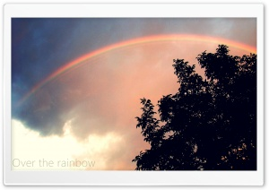 Over The Rainbow HD Wide Wallpaper for Widescreen