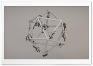 Overgrown Polyhedron HD Wide Wallpaper for 4K UHD Widescreen desktop & smartphone