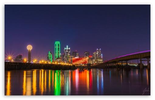 Bmw Baton Rouge >> Oversaturated Dallas Skyline 4K HD Desktop Wallpaper for ...