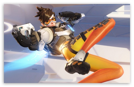 Overwatch Tracer 4K HD Desktop Wallpaper For • Wide