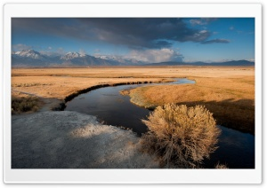 Owens River Field HD Wide Wallpaper for Widescreen