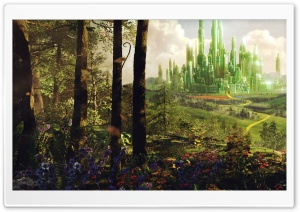 Oz The Great And Powerful - Land of Oz HD Wide Wallpaper for Widescreen