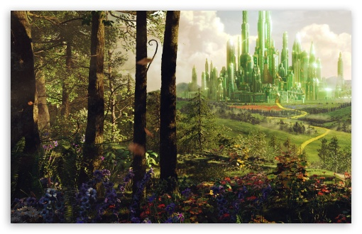 Oz The Great And Powerful - Land of Oz HD wallpaper for Wide 16:10 5:3 Widescreen WHXGA WQXGA WUXGA WXGA WGA ; HD 16:9 High Definition WQHD QWXGA 1080p 900p 720p QHD nHD ; Standard 4:3 5:4 3:2 Fullscreen UXGA XGA SVGA QSXGA SXGA DVGA HVGA HQVGA devices ( Apple PowerBook G4 iPhone 4 3G 3GS iPod Touch ) ; Tablet 1:1 ; iPad 1/2/Mini ; Mobile 4:3 5:3 3:2 16:9 5:4 - UXGA XGA SVGA WGA DVGA HVGA HQVGA devices ( Apple PowerBook G4 iPhone 4 3G 3GS iPod Touch ) WQHD QWXGA 1080p 900p 720p QHD nHD QSXGA SXGA ;