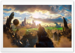 Oz The Great and Powerful Concept Art HD Wide Wallpaper for Widescreen