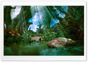 Oz The Great and Powerful Film HD Wide Wallpaper for Widescreen