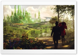 Oz The Great And Powerful Oscar Diggs and Theodora HD Wide Wallpaper for Widescreen