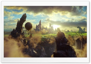 Oz The Great And Powerful Scene HD Wide Wallpaper for Widescreen