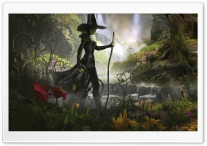 Oz The Great And Powerful Wicked Witch Of The West HD Wide Wallpaper for Widescreen