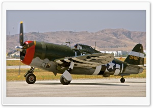 P-47 Thunderbolt HD Wide Wallpaper for Widescreen