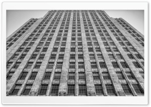 Pacbell Building Art Deco Tower Ultra HD Wallpaper for 4K UHD Widescreen desktop, tablet & smartphone