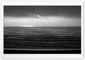 Pacific BW Ultra HD Wallpaper for 4K UHD Widescreen desktop, tablet & smartphone