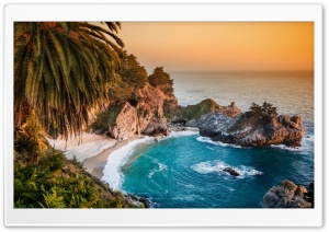 Pacific Ocean, Big Sur, California, Beach HD Wide Wallpaper for 4K UHD Widescreen desktop & smartphone