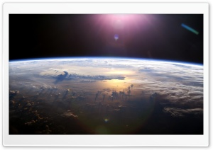 Pacific Ocean From Space HD Wide Wallpaper for Widescreen