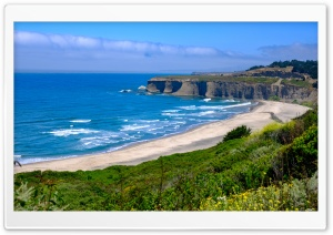 Pacific Ocean, Highway 1 One, California Ultra HD Wallpaper for 4K UHD Widescreen desktop, tablet & smartphone