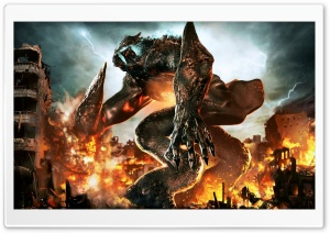 Pacific Rim Monster Kaiju HD Wide Wallpaper for Widescreen