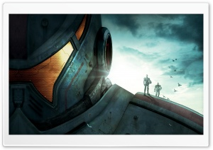 Pacific Rim Robot HD Wide Wallpaper for Widescreen
