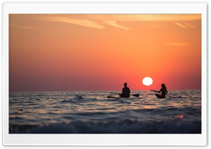 Paddleboarding Ultra HD Wallpaper for 4K UHD Widescreen desktop, tablet & smartphone