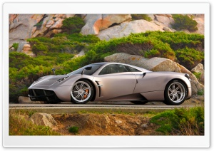 Pagani Huayra Landscape HD Wide Wallpaper for Widescreen