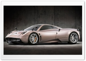 Pagani Huayra Light Brown HD Wide Wallpaper for Widescreen