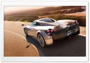 Pagani Huayra Speedcam HD Wide Wallpaper for Widescreen