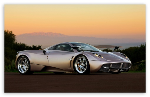 Pagani Huayra Sunset 4K HD Desktop Wallpaper for 4K Ultra ...