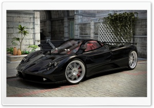 Pagani Zonda 3D HD Wide Wallpaper for Widescreen