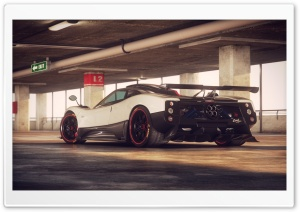 Pagani Zonda Cinque HD Wide Wallpaper for Widescreen