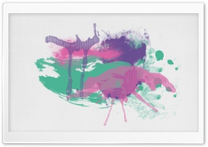 Paint Splatters HD Wide Wallpaper for Widescreen