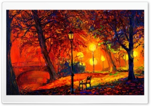 Painting HD Wide Wallpaper for Widescreen