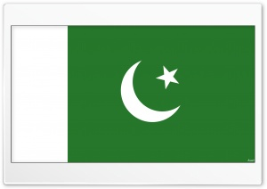 Pakistan Flag HD Wide Wallpaper for Widescreen