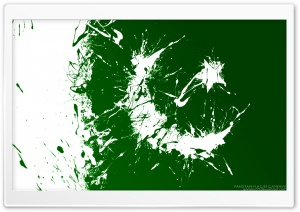 Pakistani Flag HD Wide Wallpaper for Widescreen