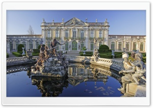 Palace In Portugal HD Wide Wallpaper for Widescreen
