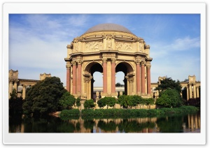 Palace of Fine Arts, San Francisco, California HD Wide Wallpaper for Widescreen