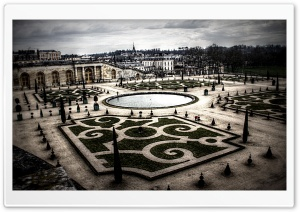 Palace of Versailles Garden HD Wide Wallpaper for Widescreen