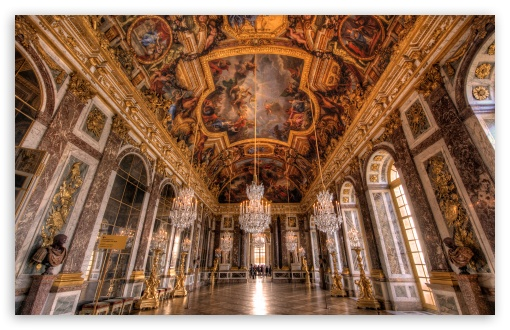 Palace of Versailles Hall of Mirrors HD wallpaper for Wide 16:10 5:3 Widescreen WHXGA WQXGA WUXGA WXGA WGA ; HD 16:9 High Definition WQHD QWXGA 1080p 900p 720p QHD nHD ; Standard 4:3 5:4 3:2 Fullscreen UXGA XGA SVGA QSXGA SXGA DVGA HVGA HQVGA devices ( Apple PowerBook G4 iPhone 4 3G 3GS iPod Touch ) ; Tablet 1:1 ; iPad 1/2/Mini ; Mobile 4:3 5:3 3:2 16:9 5:4 - UXGA XGA SVGA WGA DVGA HVGA HQVGA devices ( Apple PowerBook G4 iPhone 4 3G 3GS iPod Touch ) WQHD QWXGA 1080p 900p 720p QHD nHD QSXGA SXGA ;