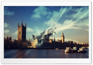 Palace Of Westminster, London, UK HD Wide Wallpaper for Widescreen