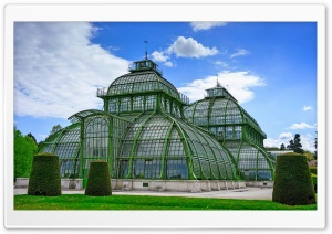 Palmenhaus Wien HD Wide Wallpaper for Widescreen