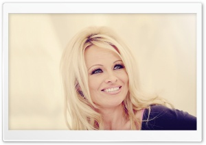 Pamela Anderson (2012) HD Wide Wallpaper for Widescreen