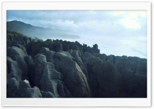Pancake Rock HD Wide Wallpaper for Widescreen