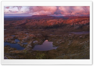 Panoramic View Scotland Highlands HD Wide Wallpaper for 4K UHD Widescreen desktop & smartphone