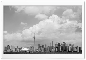 Panoramic View Toronto Skyline Ultra HD Wallpaper for 4K UHD Widescreen desktop, tablet & smartphone