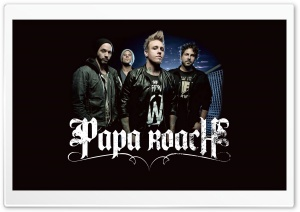 PapaRoach HD Wide Wallpaper for Widescreen