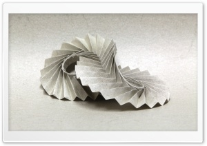 Paper Pleats HD Wide Wallpaper for Widescreen