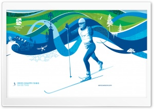 Para Cross-Country Skiing HD Wide Wallpaper for Widescreen