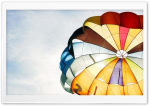 Parachute HD Wide Wallpaper for Widescreen
