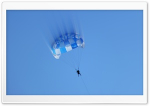Parachute Man HD Wide Wallpaper for Widescreen